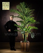 PIANTA TROPICALE ARTIFICIALE ARECA PALM GRANDE